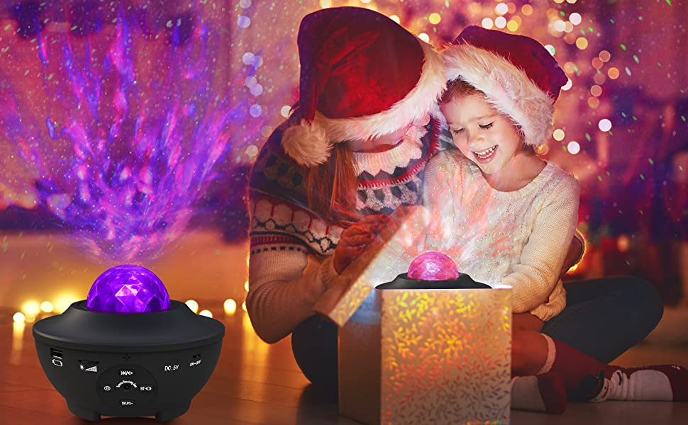 LED Star Light Night Music Projecteur