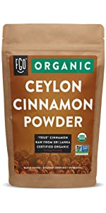 Organic Ceylon Cinnamon