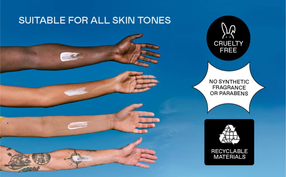 Suitable For All Skin Tones