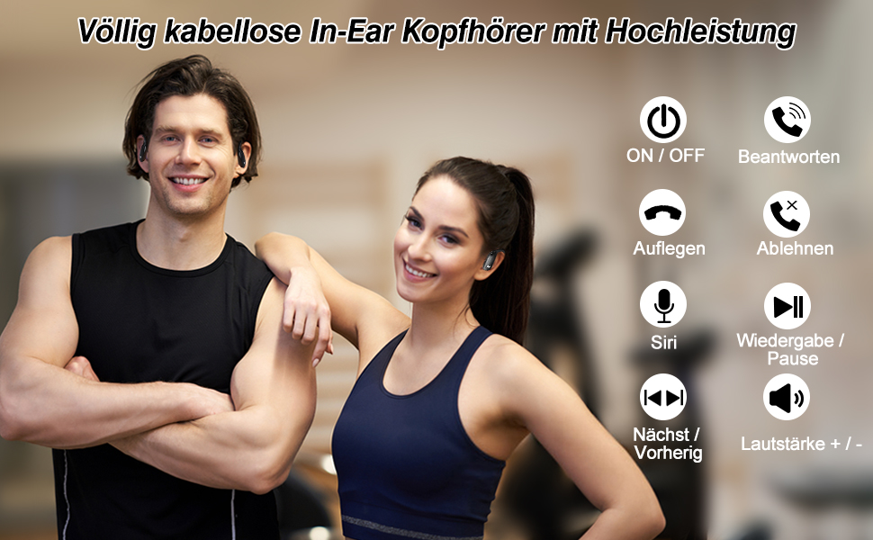 Kabellose Ohrhörer