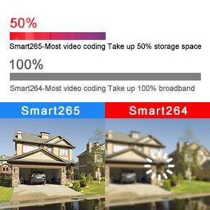 Smart H.265 Video Compression