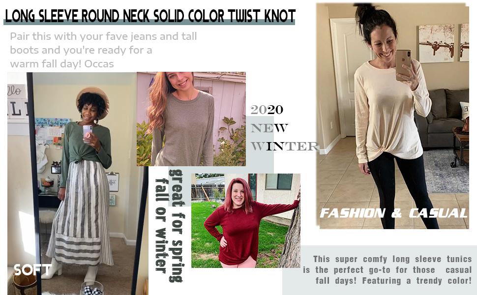 womens long sleeve tops