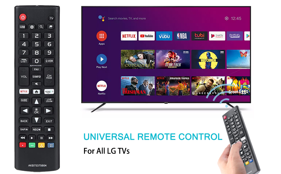 universal remote control lg