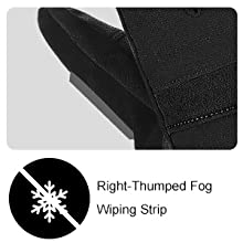 Winter Ski & Snow Gloves Waterproof Windproof Gloves for Men & Women for Cold Weather