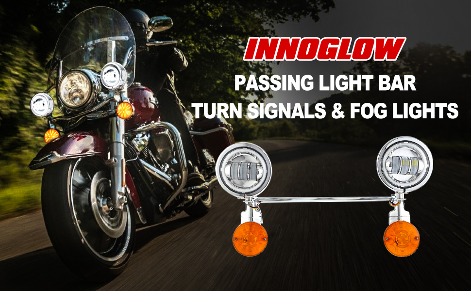 motorcycle passing light bar