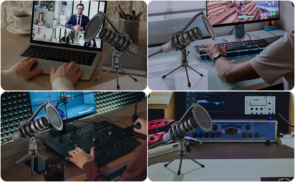 ZINGYOU ZY-UD1 for recording chatting gaming podcasting