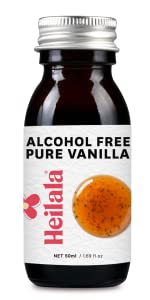 Heilala alcohol free vanilla gourmet contains real pod seeds premium flavor no sugar