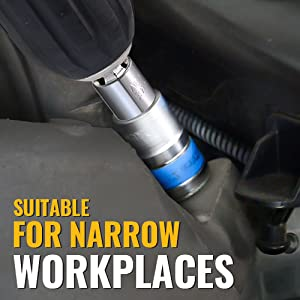 SUITABEL FOR NARROW WORKPLACES