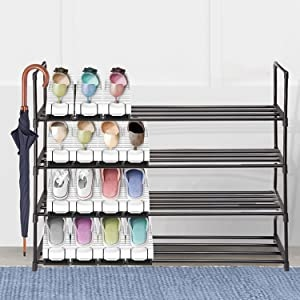 plastic shoe rack