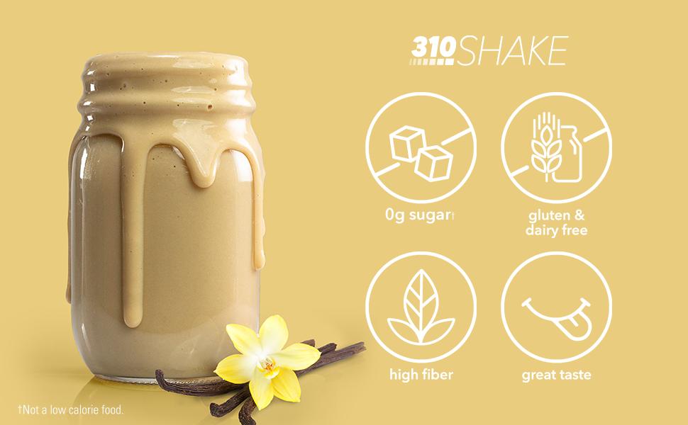 Vanilla Shake Pour