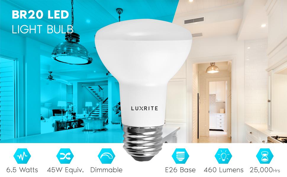 Lot of 36 Sunrise LED Dimmable Flood Light Bulbs,11W+80w BR30 Soft White