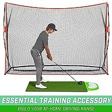 Indoor/outdoor golf mat