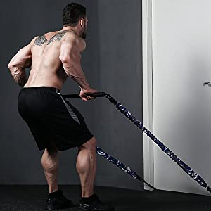 resistance band training bar