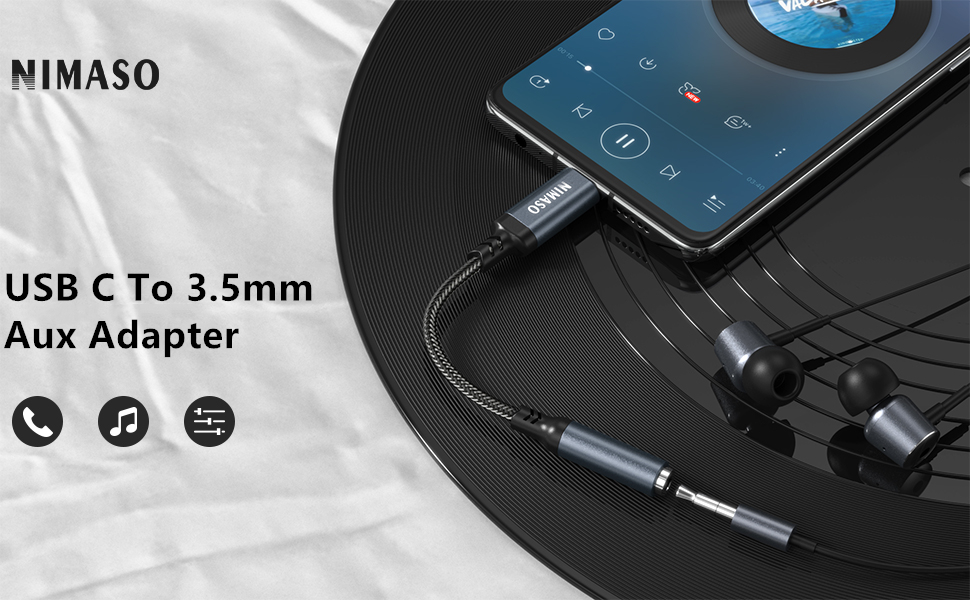 usb c to 3.5mm aux adapter