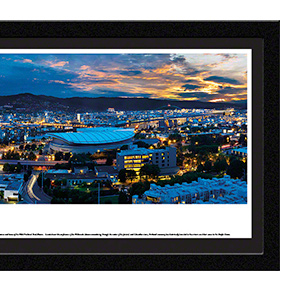 Portland, OR with select frame