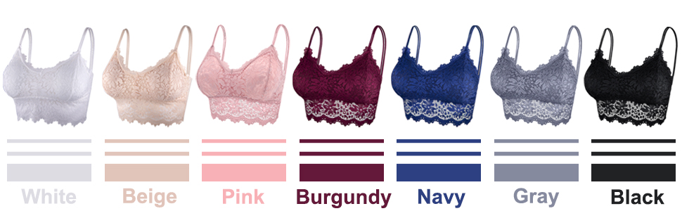 lace bralettes for women