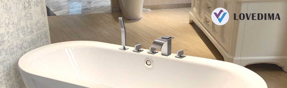 modern tub faucet