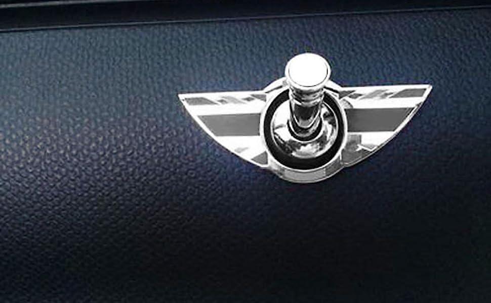 1 Para Union Jack Flag Logo Auto Innentürschloss Pin Knob Für Alle Mini Cooper