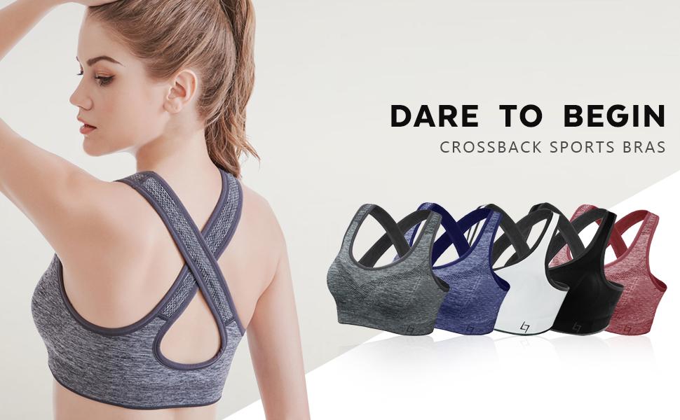 fittin crossback sports bras