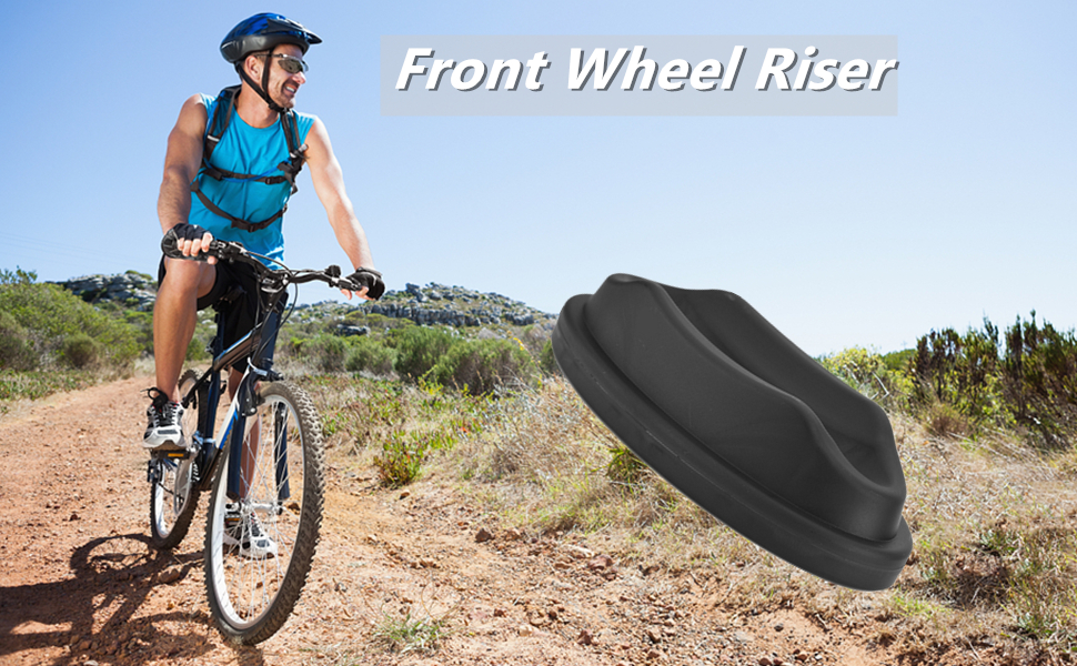 Keen so Front Wheel Riser Block Cycling Front Wheel Riser Cycling Block for Indoor Bicycle Training Bike Trainer Stand