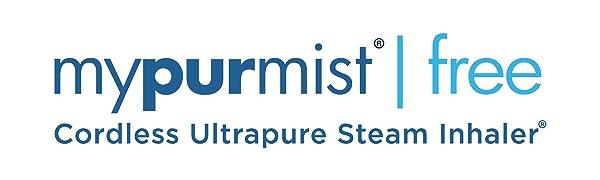 Mypurmist steam inhaler vaporizer sinus allergy relief