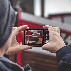 "Flashandfocus.com 63e51c95-6a84-45a7-a0b2-3e516281ac90.__CR0,0,300,300_PT0_SX300_V1___ AbergBest 21 Mega Pixels 2.7"" LCD Rechargeable HD Digital Camera,Video camera Digital Students cameras,Indoor Outdoor for Adult/Seniors/Kids (Black)"