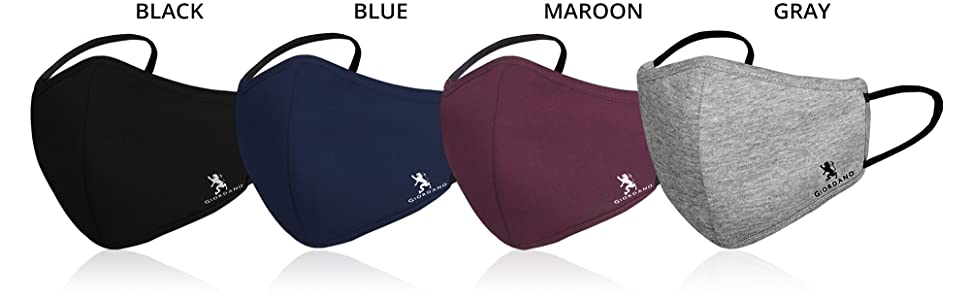 Giordano masks colours