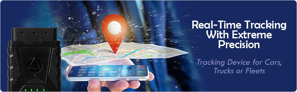 Real Time GPS Tracker for Vehicles Made in the USA