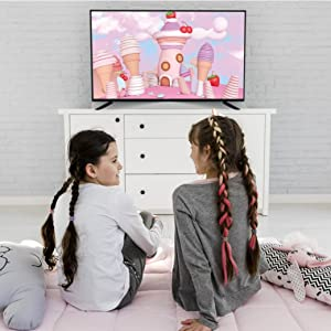 eairtec tv 40 inches smart hd full 4k ready fire stick led android monitor