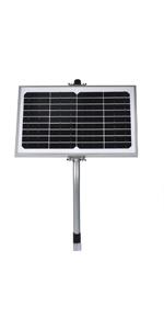 10w solar panel with regulator