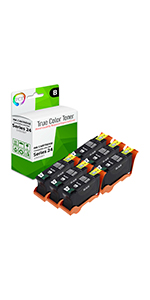 T092N 22 etc; Multi Color Ink: CD21CLR V515W T094N MG Compatible Inkjet Cartridges 23 24 T106N Replacement for Dell Series 21 V313W T110N; Models: V313
