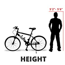 OMObike model 1.0 height, cycle height for men, suitable for 160cm to 160 cm, bicycle for men