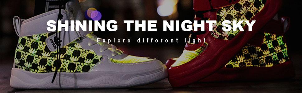 men LED shoes