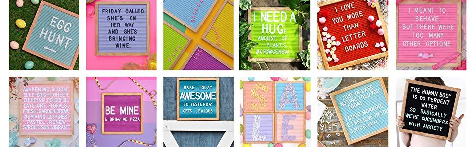 rainbow felt like sharing felt letter boards with letters baby memo pregnancy announcement teacher