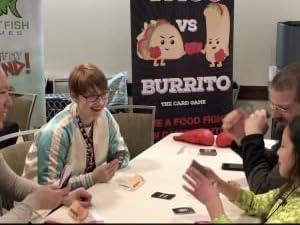 Taco Vs Burrito Comicon