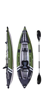 Steelhead 130 Fishing Kayak Canoe