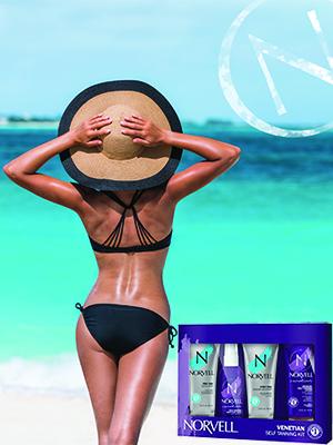 norvell venetian dark violet tanning system sunless tan lotion home tanning dark tanning lotion