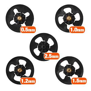 5 Nozzle Sizes