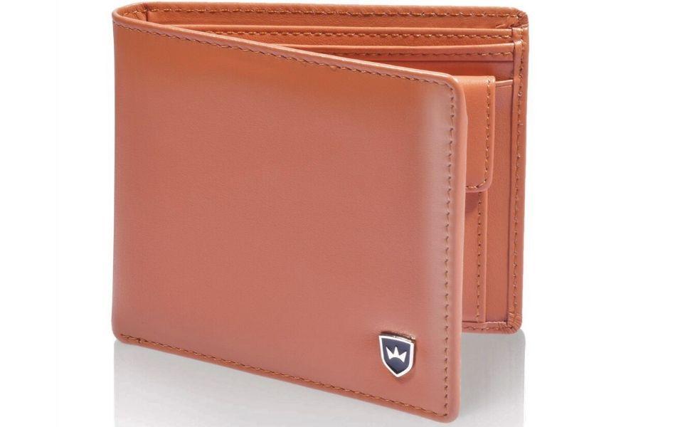 Premium Geldbeutel aus Nappa Leder