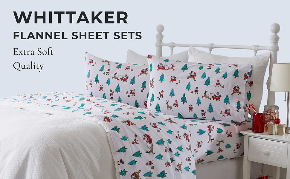 whittaker flannel sheets extra soft