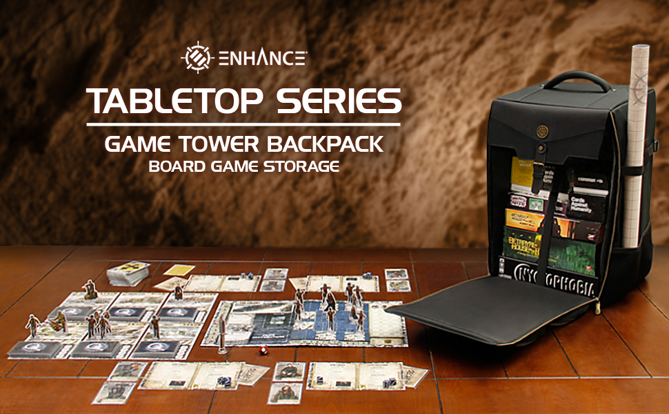 Board Game Tower Backpack