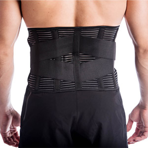 Slim waste back lumbar support inflamed pulled sore muscles training pregnant low profile adjustable