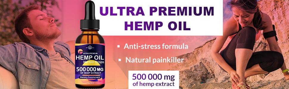 Ultra Premium Hemp Oil