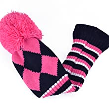 golf head covers knitted