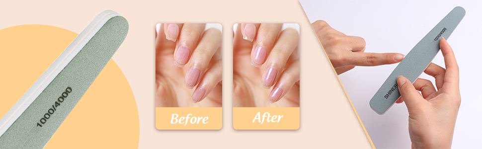shine nail nail buffer