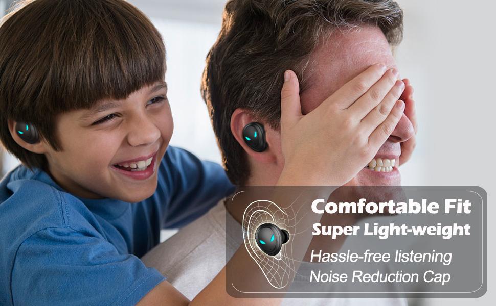 In-ear Noise reduction headphones