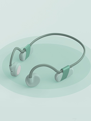 Bluetooth Earphones With Bone Conduction Tech
