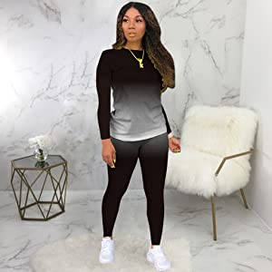 women 2 piece outfits sets