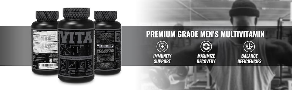 Vita-XT Black - Premium Grade Men's Multivitamin