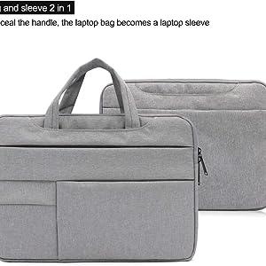 laptop bag multiple pocket